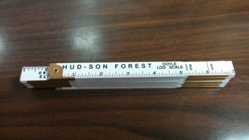 Hud-Son Doyle Log Rule Ruler Log Scale farm  portable sawmill chainsaw #DLR