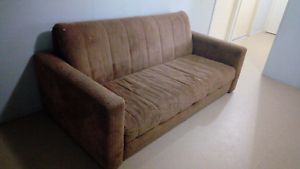 3 seater fold out couch Brassall Ipswich City Preview