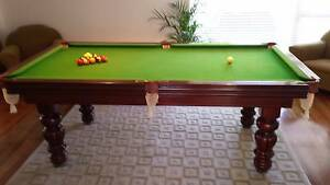 Beautiful Billiard Table Vale Park Walkerville Area Preview