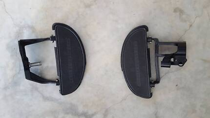 Harley Davidson Half Moon Footboards and foot controls