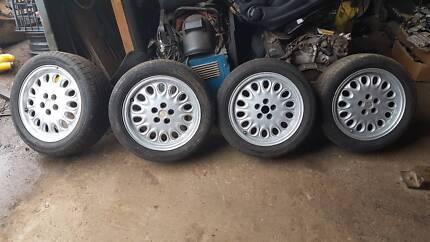 "Alfa Romeo GTV Alloy Wheels and Tyres 16"" 5x98"