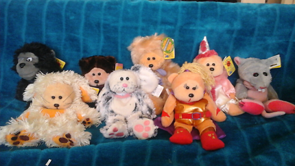 Loads of Beanie kids, rare and retired