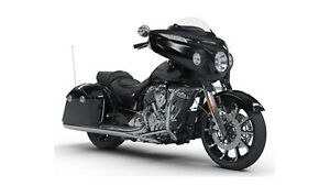 2018 Indian Motorcycles Chieftain Limited Thunder Black Pearl