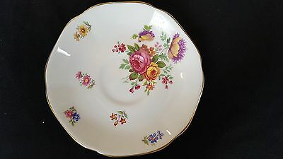 Royal Grafton Fine Bone China, Made in England, Gold Trimmed Saucer
