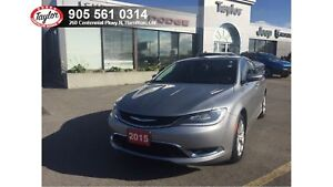 2015 Chrysler 200 C V6 w/Leather, Navigation, Sunroof, Saftey Te