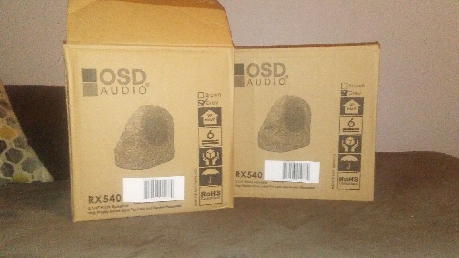 High Performance Rock outdoor speakers by OSD AUDIO rx540