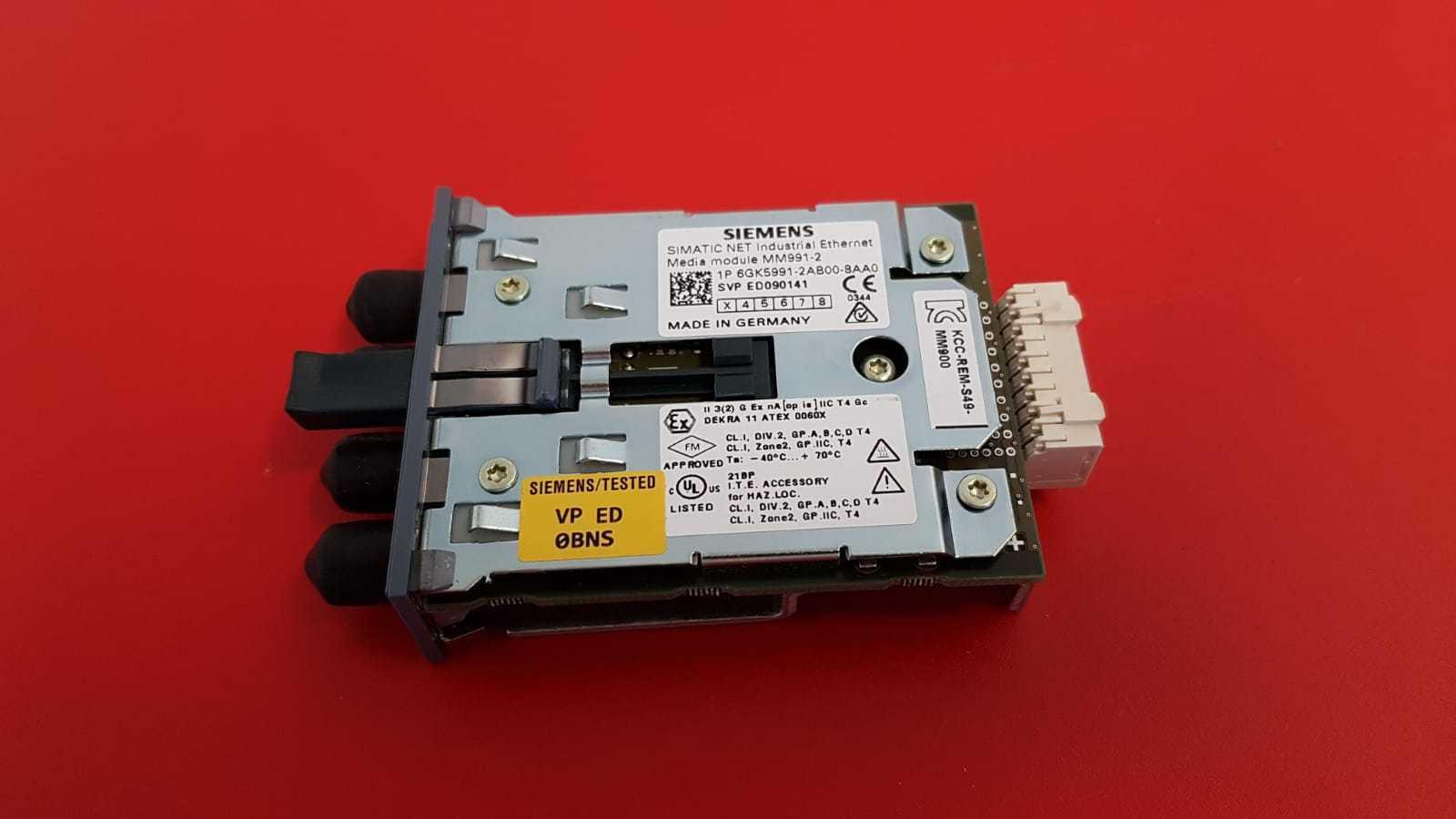 SIEMENS SIMATIC NET 9912AB 6GK5 991-2AB00-8AA0