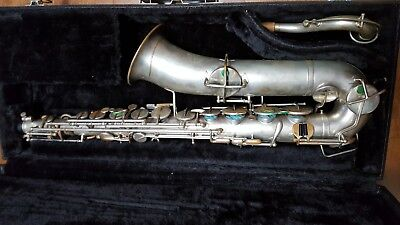 C Melody Saxophone 1920 Carl Fischer stencil #70XXX for sale  Davenport