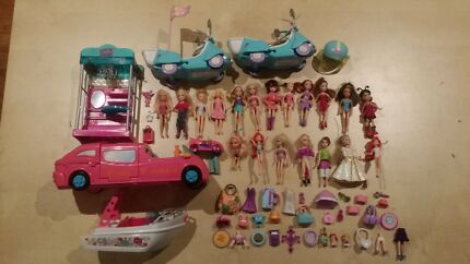 Large lot of Polly Pocket Dolls & Accessories Padbury Joondalup Area Preview