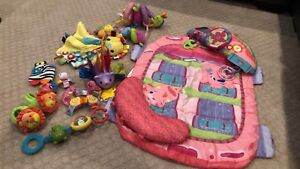 Like new infant toys lot pink