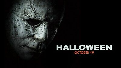 Halloween - Mike Myers Classic Horror 2018 Movie Large Poster / Canvas Pictures