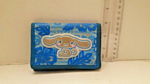 Sanrio cinnamon roll Wallet Blue Japan Rare collectible