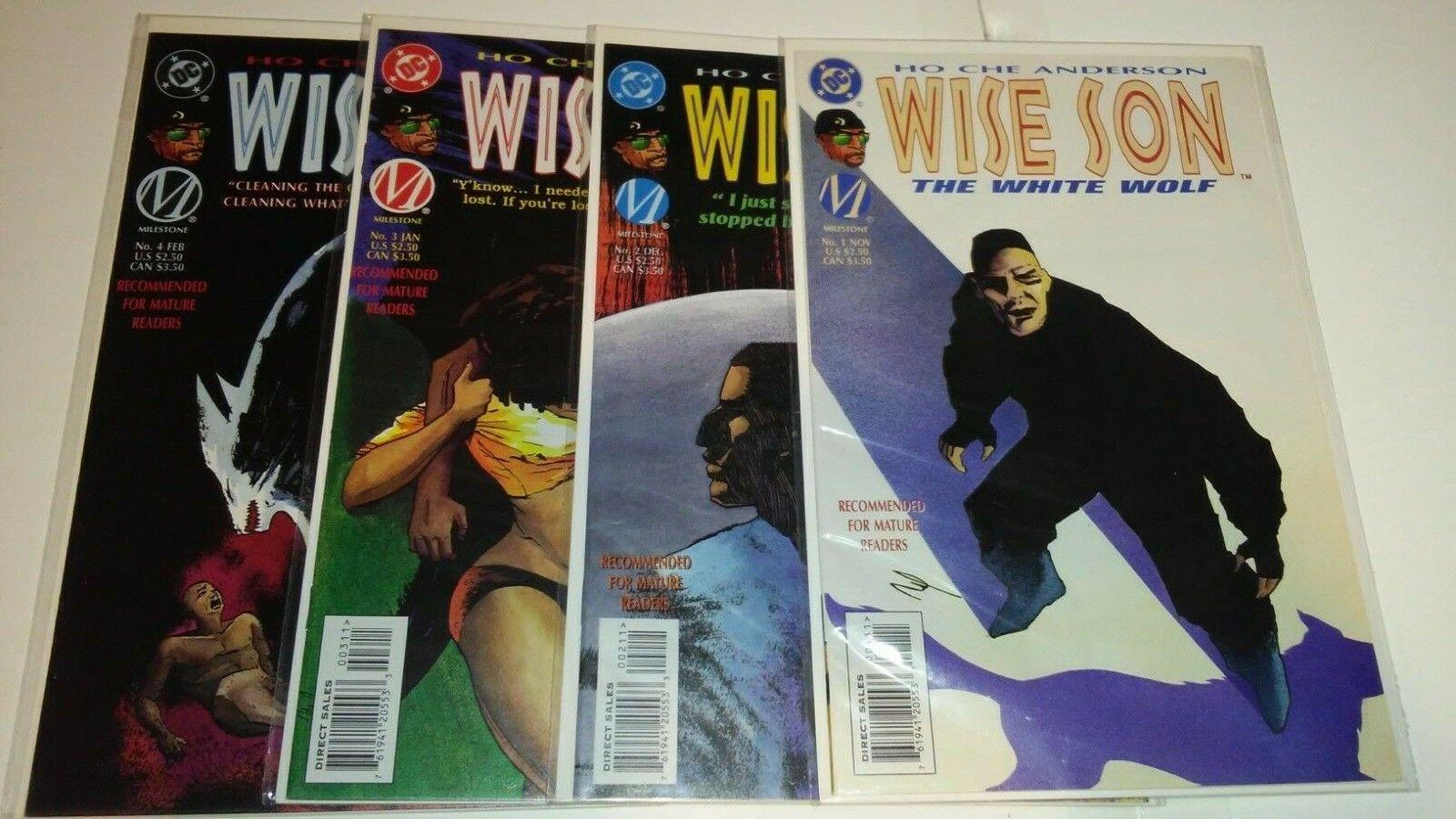 WISE SON The White Wolf 1-4 Complete Set 1996 HTF Scarce DC MILESTONE McDuffie  - $29.99