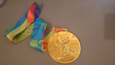 Goldmedaille Gold Olympia Olympische Spiele Medaille Rio de Janeiro 2016