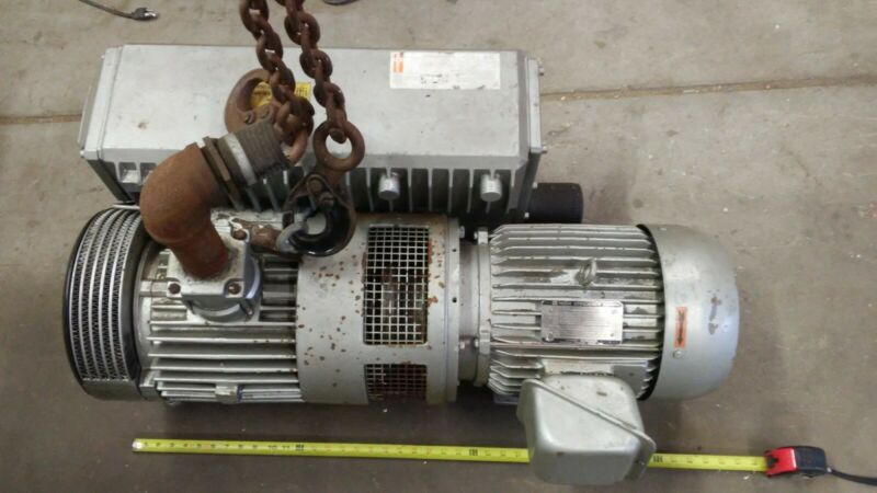 Busch Vacuum Pump RC0250-C406 174 CFM , Toshiba 10hp motor