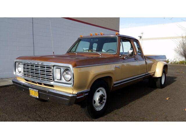 1977 Dodge D300 Super Cab Dually 440 V 8 1 Owner 36k