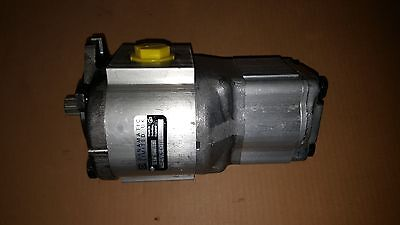 New Hydraulic Double Gear Pump For Bobcat 2410 Mtc Oem 6665552