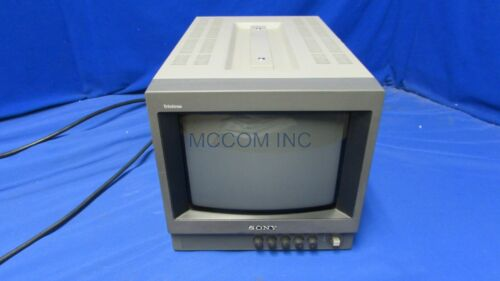 """Sony PVM-8040 8"""" CRT Color Analog Monitor good picture"""