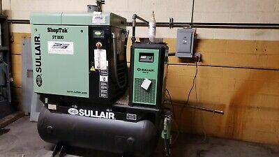 Sullair St 1109 Ac Rotary Screw Air Compressor