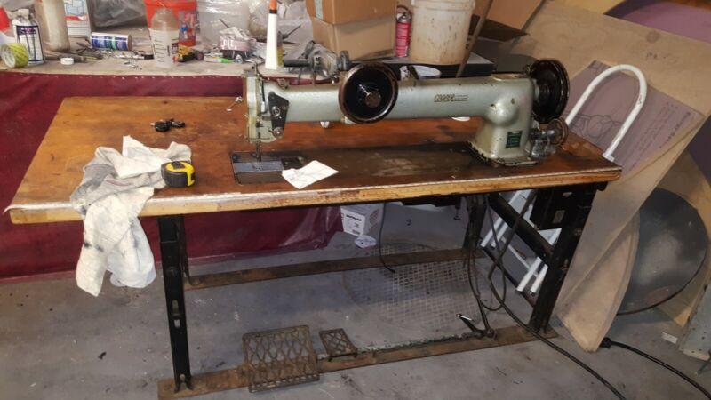 Large Walking Foot Industrial Sewing Machine