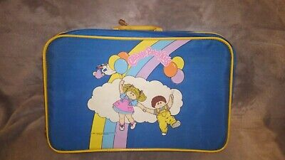 1980's Vintage Blue Cabbage Patch Kids Suitcase. Rare Image! Great condition.  for sale  Columbus