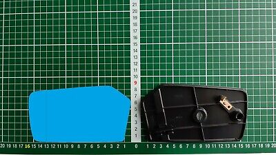 Außenspiegel Spiegelglas Ersatzglas Mercedes W 123 W 116 W 107 Li asph Blau kpl