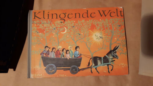 Älteres Liederbuch mit Singfibel Klingende Welt Oldenburg Verlag Dachbodenfund