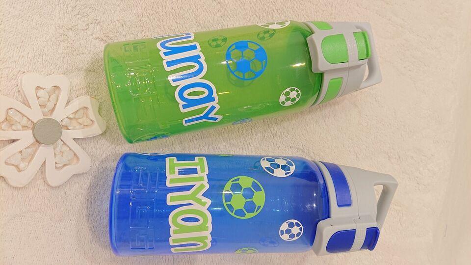 Kinder Trinflasche Kohlensäure geeignet mit Name in Hamm