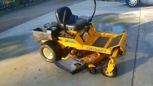 For sale cub cadet zero turn mower