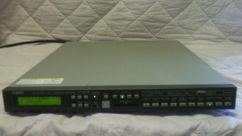Leader LT-443D High Definition HD-SDI & Analog Black-Burst Signal Generator
