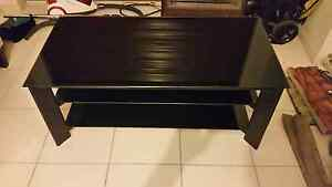 Tempered glass tv unit Rosemeadow Campbelltown Area Preview