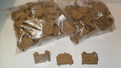 New - One LEGO 6082 DARK TAN Rock Panel BURP 4x10x6 mountains Castles