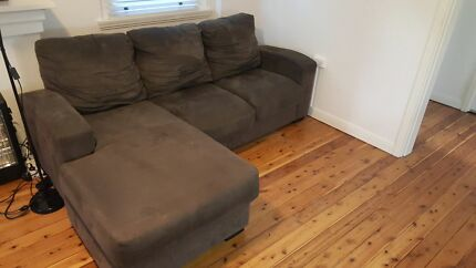 3 seater L couch Bellevue Hill Eastern Suburbs Preview