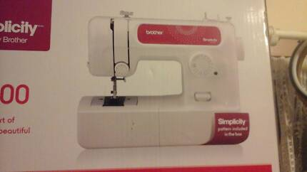 Sewing machine new