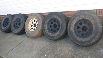 4x4 wheels + tyres (6x139.7) X 5 Woodcroft Blacktown Area Preview