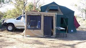 Tray Back Camper, Roof Top tent/annexe, side awning/kitchen annex Irymple Mildura City Preview