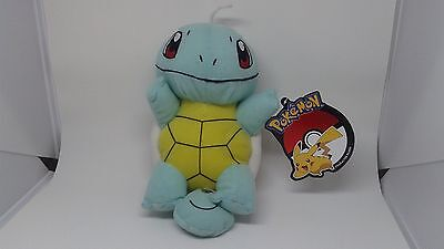 """Toy Factory 7"""" Squirtle Plush Pokemon - New with Official Tags"""