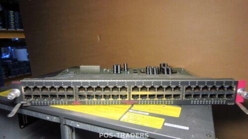 Cisco WS-X4148-RJ 48-port 10/100 ethernet Switch Module - FROM CISCO 4506