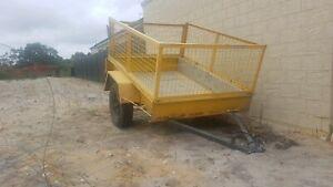 Single axel cage trailer (no rego)