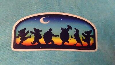 Grateful Dead Terrapin Crow Dancing Bear Moondance MINI 1.5 x 3 Inch Sticker