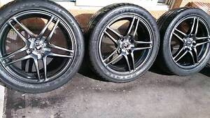 "17"" Rims and Tyre 235/45R17 Dandenong South Greater Dandenong Preview"