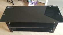 Tempered Glass TV stand Strathfield Strathfield Area Preview