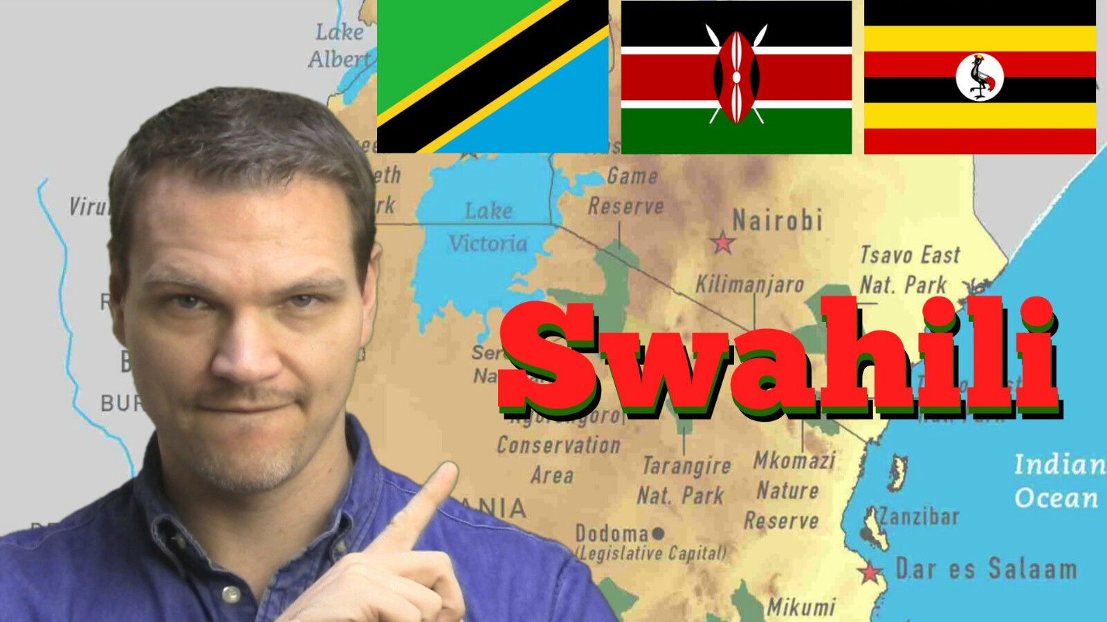 LEARN SWAHILI FAST THE MOST COMPLETE COMPREHENSIVE LANGUAGE - The most complete language in the world