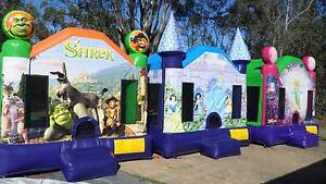 JUMPING CASTLE AND AMUSEMENT HIRE BUSINESS FOR SALE Brisbane South West Preview