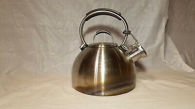 KitchenAid Stainless Steel Whistling Kettle - 2 QT Heavy Duty - Used