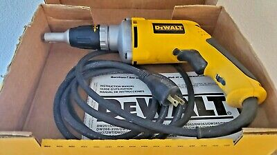 Dewalt Dw272 4000rpm Variables Speed Heavy Duty Drywall Screw Gun Used