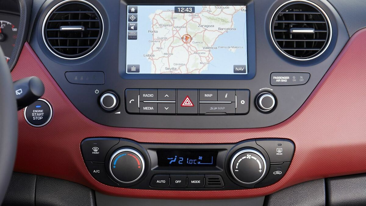 Navi, Apple Carplay und Android Auto im Hyundai i10