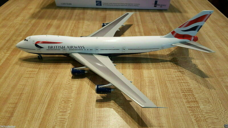 Inflight200 British Airways B747-236B 1:200 IF7420413 United Kingdom Clrs G-BDXB