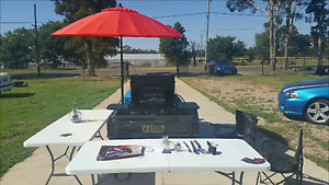 BBQ trailer on WHEELS portable registered trailer gas  cheap Kemps Creek Penrith Area Preview