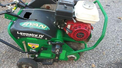 "Ryan Lawnaire IV Walk-Behind Aerator 19"" Honda GX120 4 HP Air ator Airator"